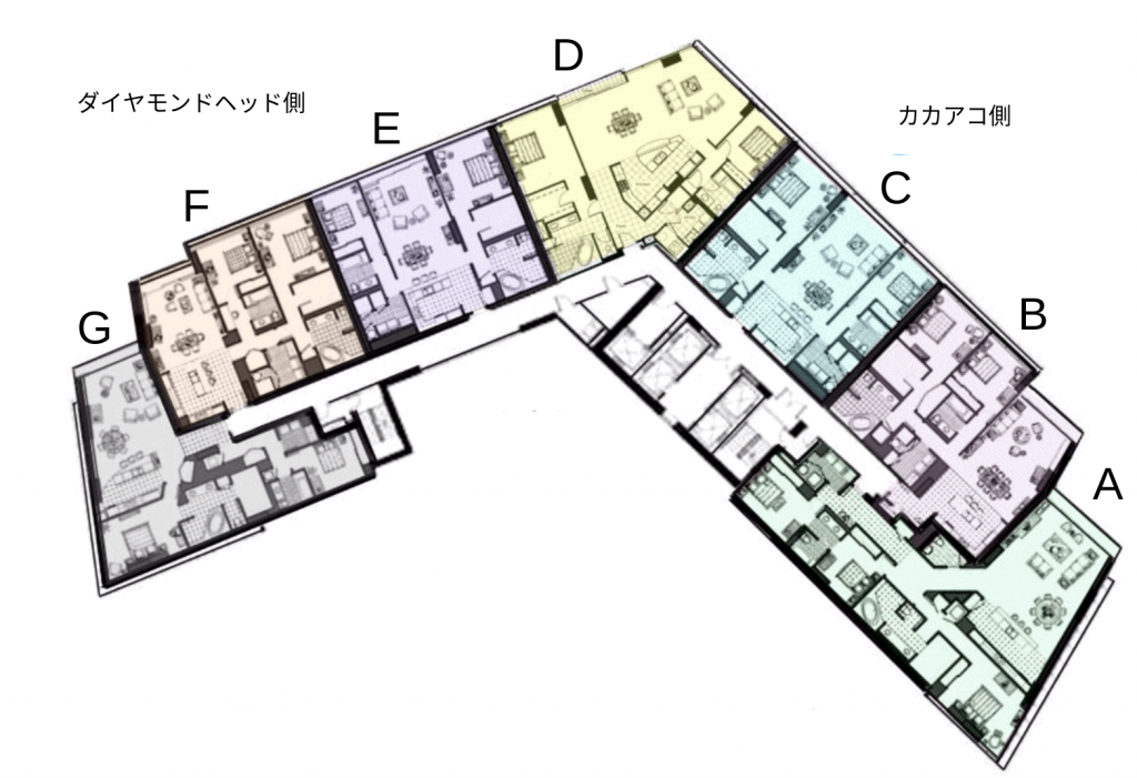Hokua Floor Plan