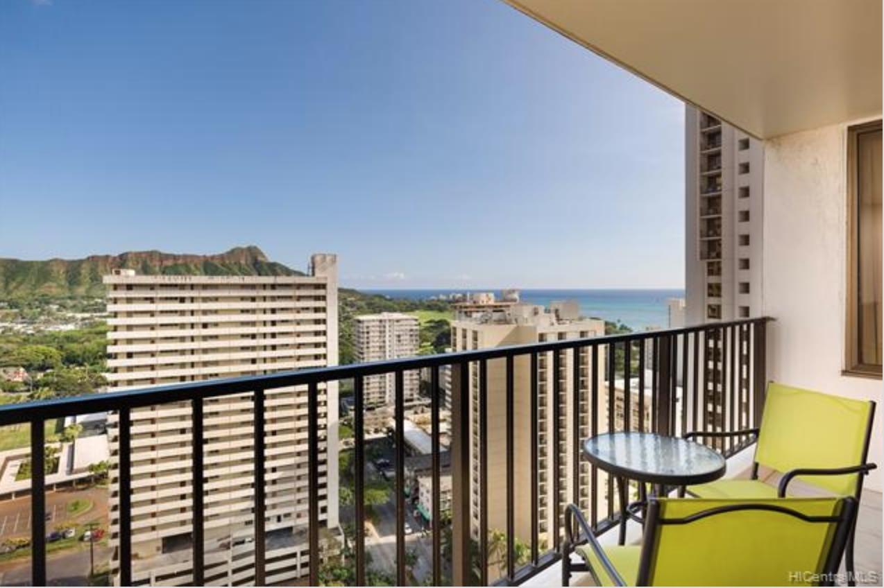 Waikiki Banyan 2611 View