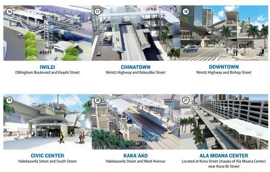 ハワイモノレール アラモアナ周辺の新駅