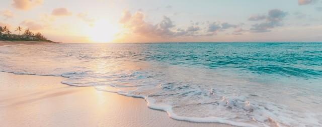 ハワイの白波2